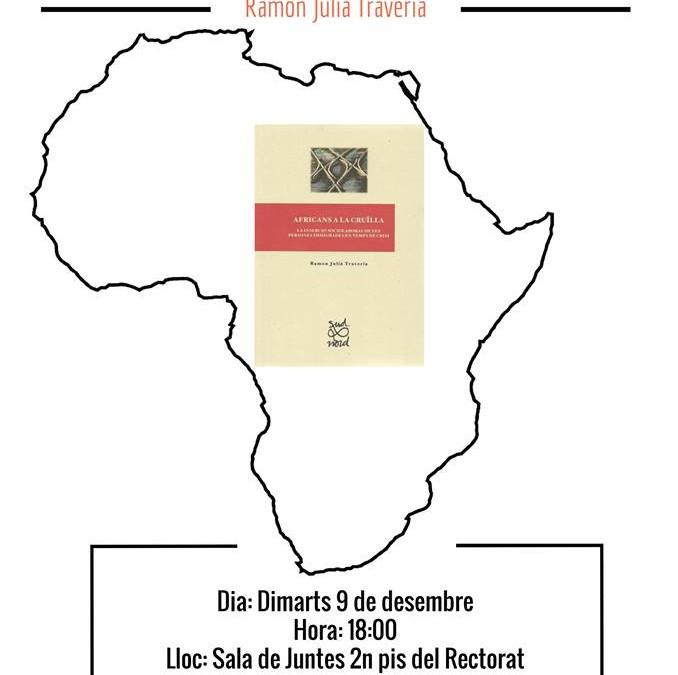 Presentació del llibre Africans a la cruïlla