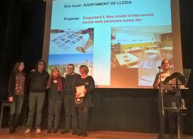 """Membres de l'Àgora guanyen, amb el projecte """"Empodera't"""",el segon premi Josep M. Rueda i Palenzuela d'intervenció comunitària"""