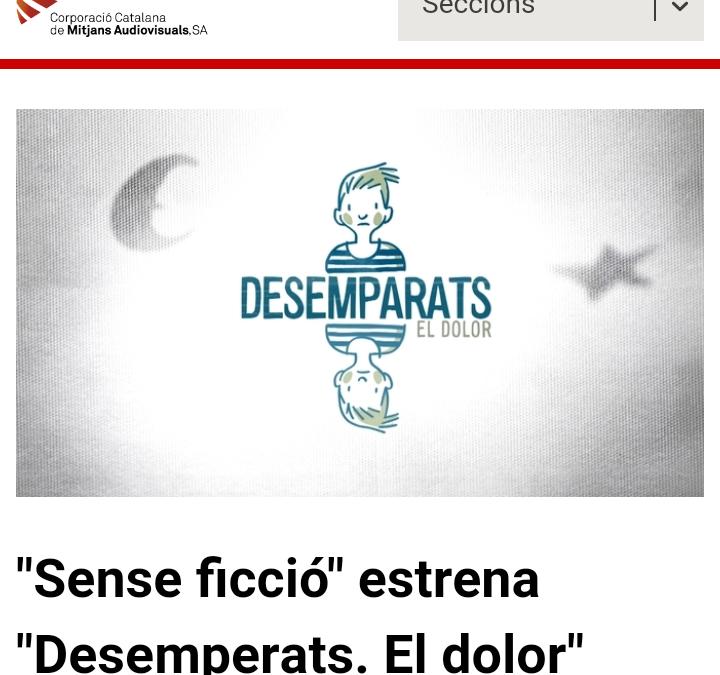 DESEMPARATS. UN PROGRAMA I UNA REFLEXIÓ