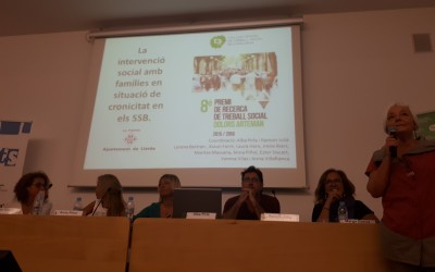 La intervención social con familias en situación de cronicidad en los servicios sociales básicos. Crónica