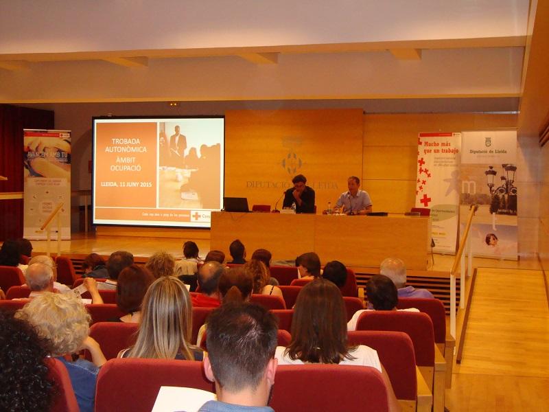 Jornada autonòmica de Creu Roja sobre ocupació