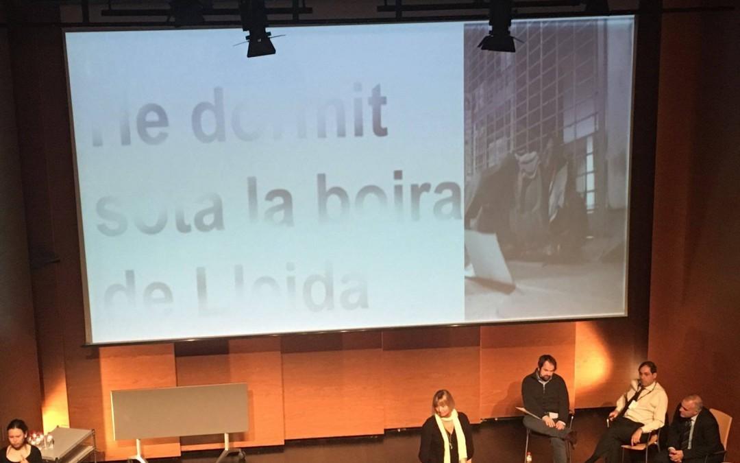 """Presentació del projecte """"Empodera´t"""" a les III Jornades d'innovació social a Lleida"""