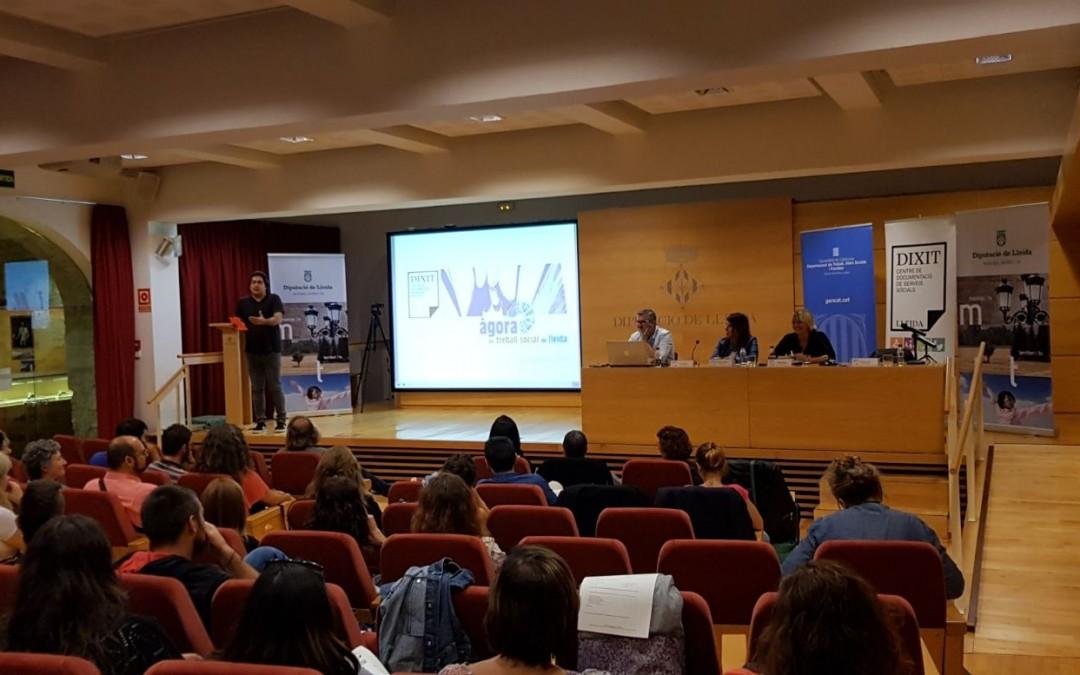 Presentació del projecte Agorat's a Dixit Lleida.
