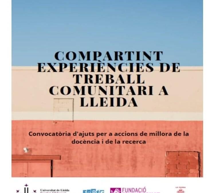 CRÒNICA DE LES I JORNADES D'INTERVENCIÓ COMUNITÀRIA A LA UDL. GRAU DE TREBALL SOCIAL